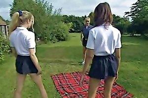 Schoolgirl Workout Free Lesbian Porn Video Ab Xhamster
